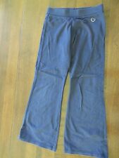 OshKosh Girls Navy Cotton Elastic Waist Embellished Pants Size 6 VGUC