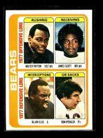 1978 TOPPS #504 BEARS NM/MT D023865