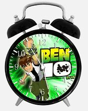 "Ben 10 Alarm Desk Clock 3.75"" Home or Office Decor W385 Nice For Gift"