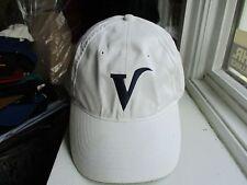 VALLEY NATIONAL BANK ~ BIG V ~ WHITE PROMO STRAPBACK Employee BASEBALL HAT