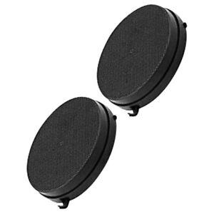 Lot de 2 filtres charbon ronds (Type 6) Hotte 103050091 AIRLUX, FALMEC