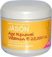 Age Renewal Vitamin E Creme 25,000 IU, Jason Natural Products, 4 oz