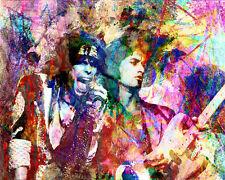Aerosmith Art Print, Pop Art Poster