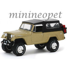 GREENLIGHT 28020 E 50TH ANNIVERSARY 1966 JEEP JEEPSTER COMMANDO 1/64 GOLD