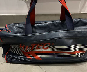 Holdall  Sports Bag . HiTec . Blue/red . Reasonable Condition