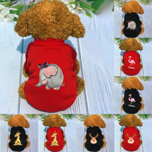 Pet Sweater Dog Clothes Cute Shirt Puppy Comfortable Autumn Winter Warm Clothing