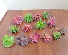 Set of 14 Artificial Flocking Mini Plants Home Garden Wedding Decoration