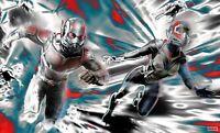 Ant-Man Wandbild Plakat Stil Tapete Einfach zu Installieren Microverse Marvel