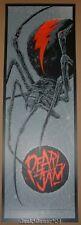Ken Taylor Pearl Jam Perth Australia Poster Print 2014 Redback Spider Art