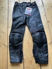 Brand New Ex-Display Ladies Rev'it Leather Motorcycle Trousers. Eur42