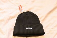 Supreme Beanie SS20 Black One Size Overdyed Hat 100% Authentic