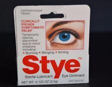 STYLE EYE OINTMENT STERILE LUBRICANT, (0.125 OZ) BURNING,STINGING,ITCHING