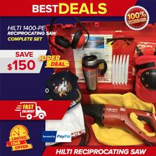 Hilti Wsr 1400 Pe Reciprocating Saw Preowned Free Blades Hilti Mug Extras