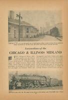 1954 Locomotives of Chicago & Illinois Midland Railroad Engine Roster C&IM