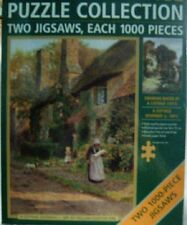 Jigsaw Puzzle - Country Cottages - 2-in-1 - 1000 Piece