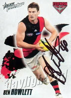 ✺Signed✺ 2010 ESSENDON BOMBERS AFL Card BEN HOWLETT