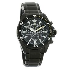 Citizen Eco-Drive Brycen Black Dial Men's Watch Model  AT2435-51E New with Tags