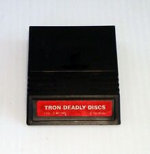 Vintage Mattel Intellivision Tron Deadly Discs Video Game Cartridge