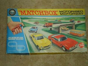 Vintage Match Box M-2 Motorway Boxed & COMPLETE with 15 cars