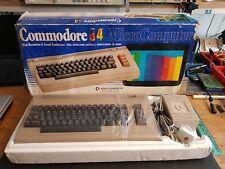 RARE VINTAGE COMMODORE 64 MK1 COMPUTER SYSTEM (VGC BOXED)
