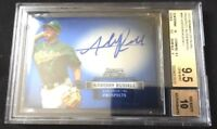 2012 Bowman Sterling Addison Russell Rookie Autograph RC AUTO BGS 9.5/10!