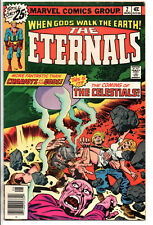 Eternals #2 Aug 1976 1st App. by Ajak & Celestials by Jack Kirby