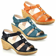 Wedge Wide (E) Casual Heels for Women