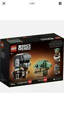 Lego 75317 Brick Headz Star Wars The Mandalorian & The Child Figures #113 & #114