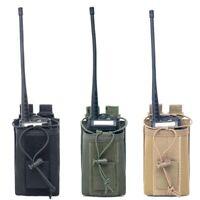 1000D Nylon Outdoor Military Molle Radio Walkie Talkie Holder Bag Pouches Pocket