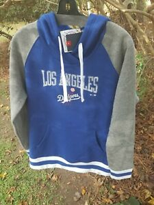 Los Angeles Dodgers Fanatics Branded Women's True Classics Stripe Pullover LGq