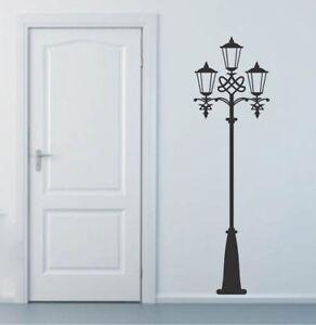 Street Light Wall Decal Lamp Post Wallpaper Mural Fancy Art Removable Vinyl, b55
