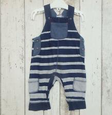 * Fab Baby Boy Navy & Grey Dungarees - Mini Club (0 - 3 months) *
