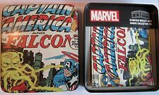 Avengers Captain America Slimfold Wallet Collector Tin Marvel Comics NEW 0004