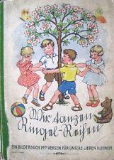 Wir tanzen Ringel-Reihen Bilderbuch mit Versen Editions Lucos..um 1920