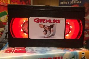 Gremlins Gizmo Desk Lamp,Horror  Movie, VHS, Bed Light, Present, Gift, TV, Film