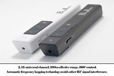Laser presenter wireless pointer powerpoint remote controller white with battery