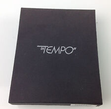 inTempo Black Address Book with Notepad