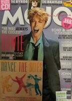 DAVID BOWIE +CD MOJO #297 AUGUST 2018 The BYRDS THE BEATLES Fleetwood Mac NEW