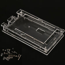 Transparent Acrylic Box Enclosure Case Hard Cover for Arduino MEGA2560 N8D