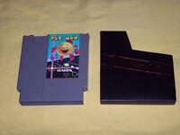 Pac Man NES Original Nintendo Tengen Gray Cart Opened Cleaned Tested Guaranteed