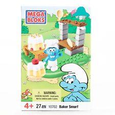 Mega Bloks Baker Smurf