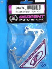 Serpent 902224 Supporto Alluminio Ant Cross-Bracket Front Alu modellismo