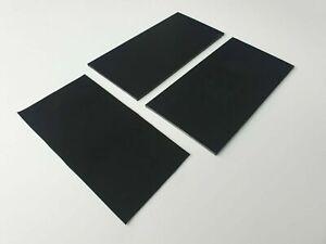 Antivibrations Gummimatte Gummiplatte SBR 1-4 mm Größe von 100 bis 500mm