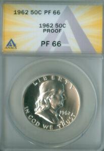 1962 Franklin Half Dollar Proof ANACS PR-66 (2127140)