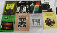 Creative Contemporary Black & White History of Photography Lot of 8 Books