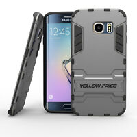 Shockproof Heavy Duty Armor Tough Stand Case For Galaxy S6 Edge+ Plus CASE COVER