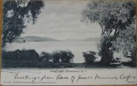 1905 NY Postcard - Otsego Lake in Cooperstown, New York