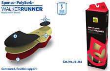 Spenco PolySorb Walker Runner Insoles Shoe Inserts Support SIZE 6 / Mens 14-15