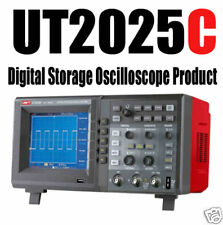 UT2025 C 25MHz Digital STORAGE colour Oscilloscope