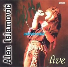 ALEN ISLAMOVIC CD Live 2002 original SIGNIERT potpis Uzivo Goran Bregovic Hitovi